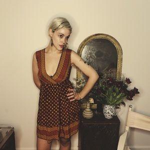 ANNA SUI wrap dress